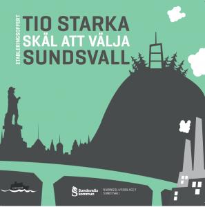 Broschyr - 10 starka skäl att välja Sundsvall