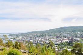 Vy över Sundsvall från Norra Berget - original (258149)