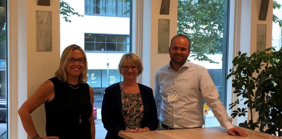 S3-piloten (Cecilia Johansson och Ewa Andersson, Tillväxtverket, plus Lars