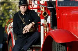 Brandbilen. fotograf Rolf Edlund