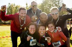 Deltagare under Broloppet som ingår i Sundsvallsklasikern den 1 oktober 2016 i Sundsvall.Foto: Nils Jakobsson / BILDBYRÅN
